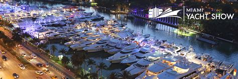 Miami Boat Show Manufacturers by Miami Yacht Show 2018