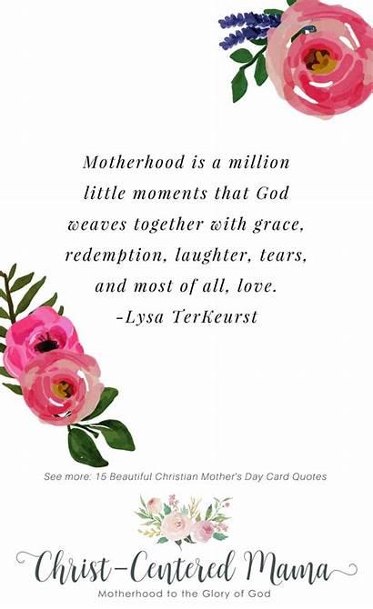 Quotes Christian Mothers Mother God Prayer Motherhood