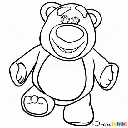 Toy Story Drawing Lotso Draw Drawings Bear