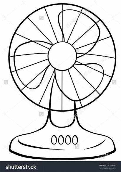 Fan Clipart Electric Drawing 123clipartpng Title Clipartmag