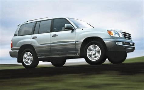 lexus suv 2003 2005 lexus lx 470 information and photos zombiedrive