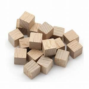 Cube En Bois Bébé : petits cubes en bois de 1 cm de c t lot de 20 color ~ Melissatoandfro.com Idées de Décoration