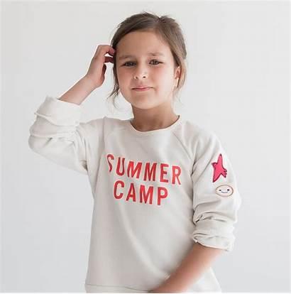 Kind Kid Summer Camp Sweatshirt Usa