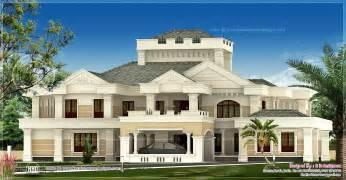 luxury home design plans luxury kerala house exterior kerala home design and floor plans