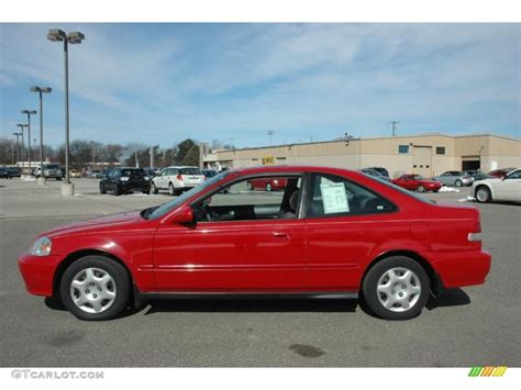 Roma Red 1999 Honda Civic Ex Coupe Exterior Photo