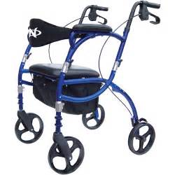 hugo navigator combo rollator walker transport