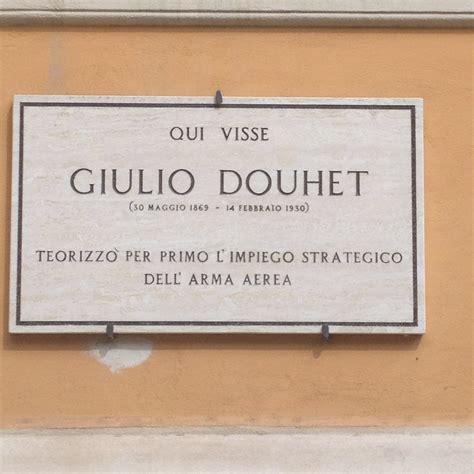 Rerum Romanarum: Targa in memoria di Giulio Douhet