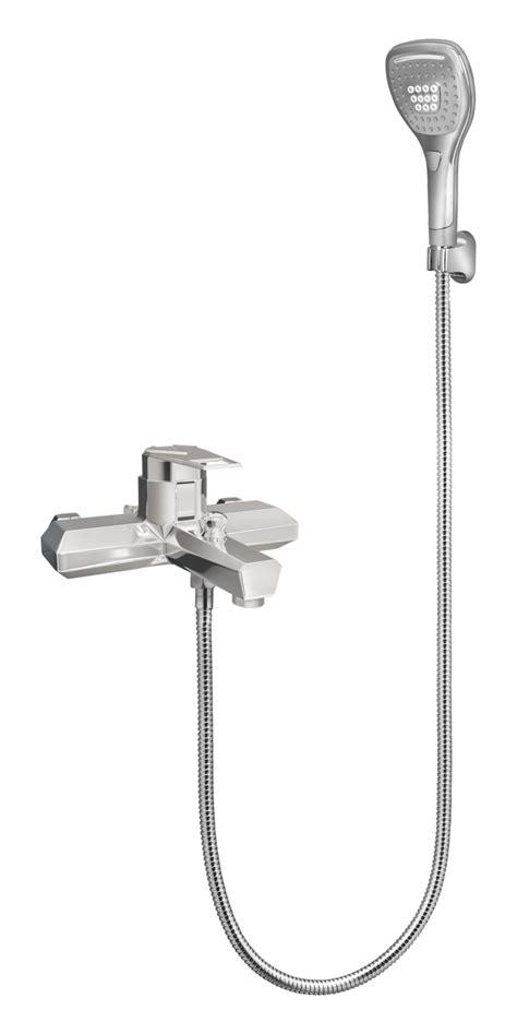 single lever bath mixer wall type  sapphire hand