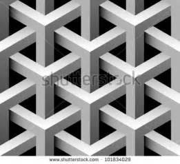 Geometric Pattern 3D Illusions