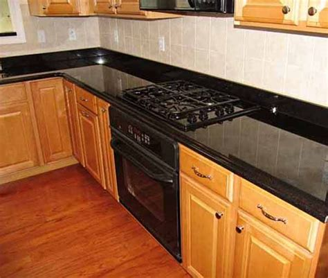 black kitchen countertops with backsplash backsplash ideas for black granite countertops the 7884