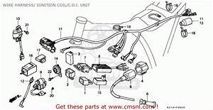 Honda Xr250r 1994  R  Belgium Wire Harness   Ignition Coil  C D I  Unit