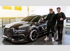 Jon Olsson's ABT Audi RS6+ Jetzt knallt's richtig