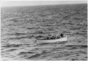 Titanic Sinking Lifeboats