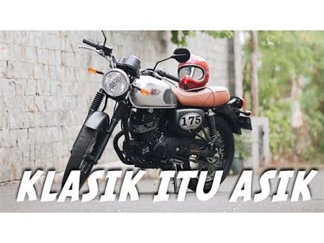 Kawasaki W175 Side Bag by Harga Kawasaki W175 Baru Dan Bekas November 2019