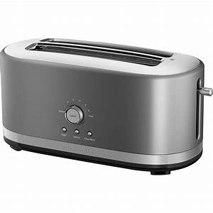 Kitchen Aid Toaster : kitchenaid kmt4116cu 4 slice long slot toaster with high lift lever toasters ovens home ~ Yasmunasinghe.com Haus und Dekorationen