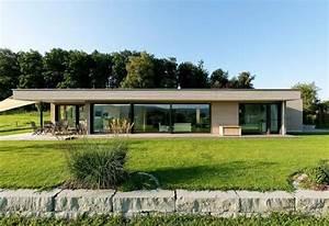 Maison Moderne Toit Plat : maison toit plat rectangulaire ~ Nature-et-papiers.com Idées de Décoration