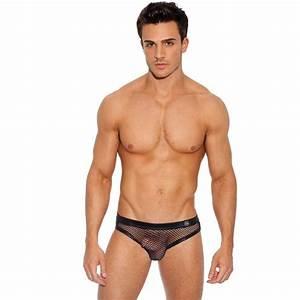 Photo Homme Sexy : gregg homme beyond doubt all mesh brief 110203 black mens underwear ~ Medecine-chirurgie-esthetiques.com Avis de Voitures