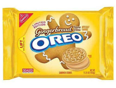 creamy packaged christmas cookies gingerbread oreos