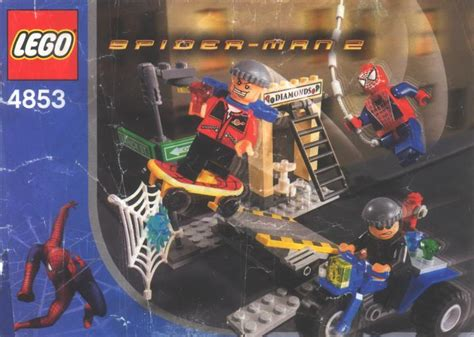 instructions    spider mans street chase