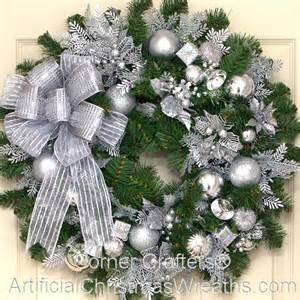 silver bells christmas wreath artificialchristmaswreaths com christmas wreaths
