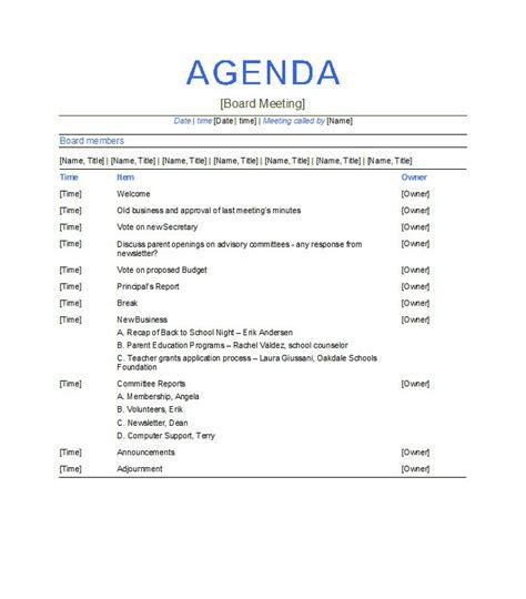 meeting agenda template free 51 effective meeting agenda templates free template downloads