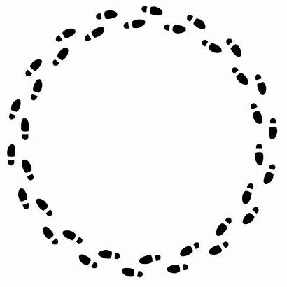 Circle Circular Footprints Questions Debriefing Debrief Podcast