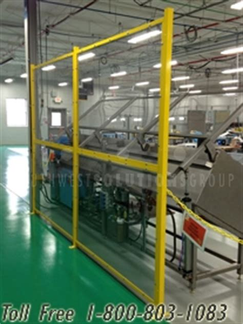 polycarbonate machine guarding protects employees