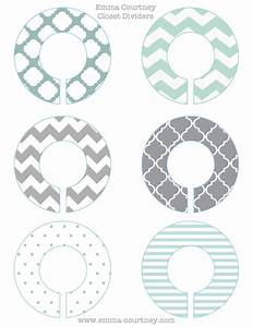 emma courtney closet dividers printable With clothes divider template