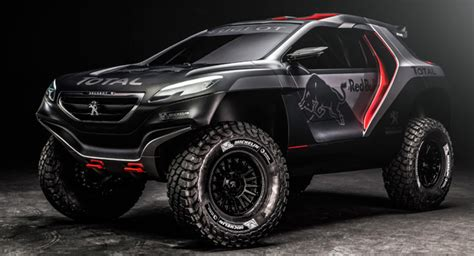 awesome peugeot car peugeot s 2008 dkr is an awesome looking two wheel drive