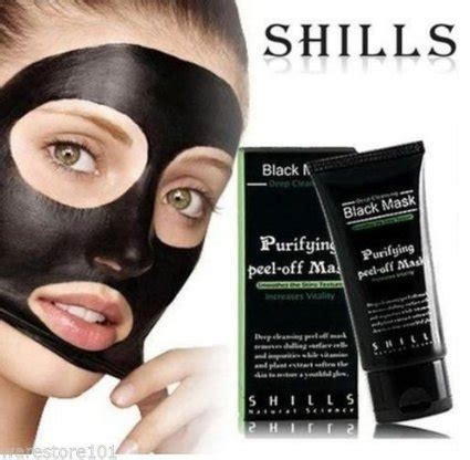 shills natural science black mask purifying peel mask