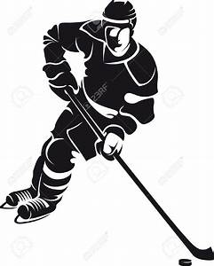 Hockey Player Shooting Clipart (74+)
