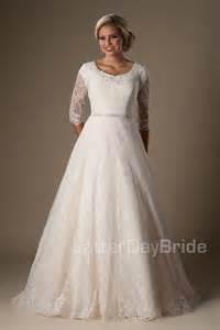 mormon wedding dresses modest wedding dresses windham