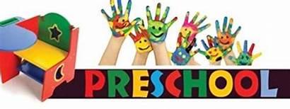 Banner Preschool Sign Vinyl