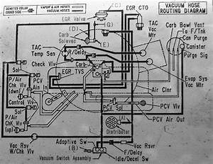 1984 - 1988 6 Cylinder Engine Vacuum