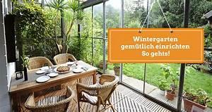 Wohnwagen Gemütlich Einrichten : wintergarten gem tlich einrichten so gehts ~ Eleganceandgraceweddings.com Haus und Dekorationen