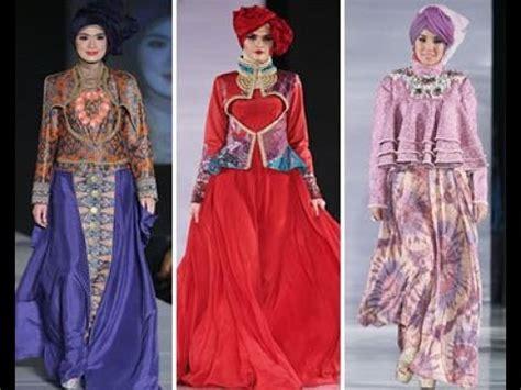 30 koleksi model busana muslim terbaru 2015 dian pelangi youtube