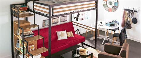 chaises de bureau alinea solution petit espace une mezzanine design et