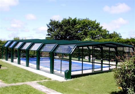abri haut piscine poolabri abri piscine haut telescopique 5 angles
