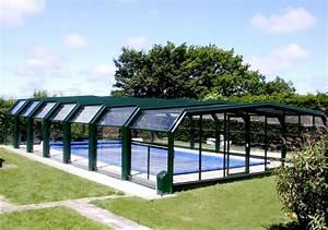 Abri Haut Piscine : poolabri abri piscine haut telescopique 5 angles ~ Premium-room.com Idées de Décoration