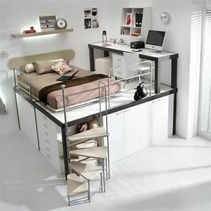 Coole Jugendzimmer Mit Hochbett : kinderzimmer mit hochbett einrichten f r eine optimale raumgestaltung ~ Bigdaddyawards.com Haus und Dekorationen