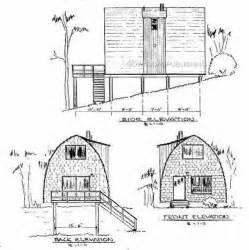 building plans for cabins arch rafter house cabin plans blueprints modified a frame mountain lake front 19 95 picclick