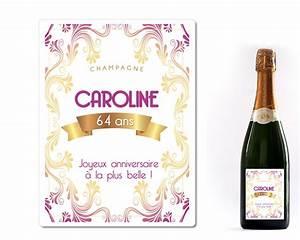 Image Champagne Anniversaire : champagne anniversaire pour elle personnalis ~ Medecine-chirurgie-esthetiques.com Avis de Voitures