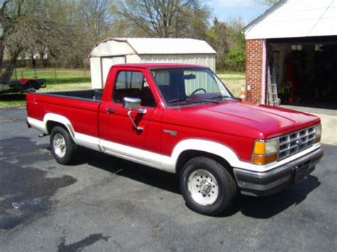purchase   ford ranger custom standard cab pickup