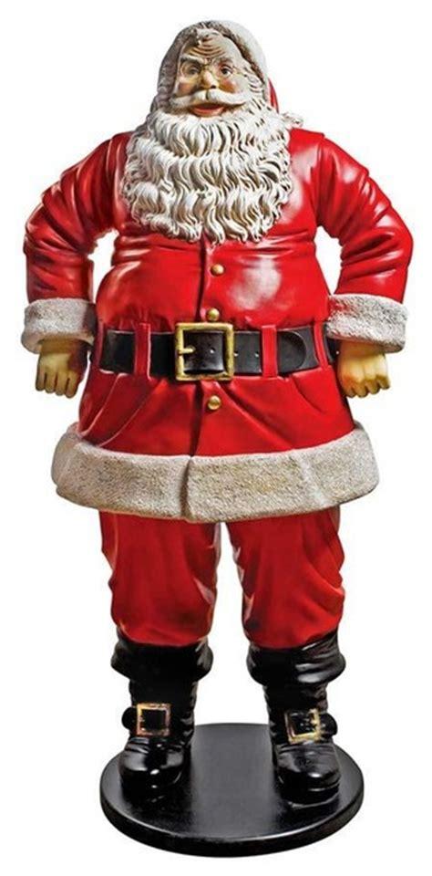 74 quot h large santa claus christmas statue scultpure