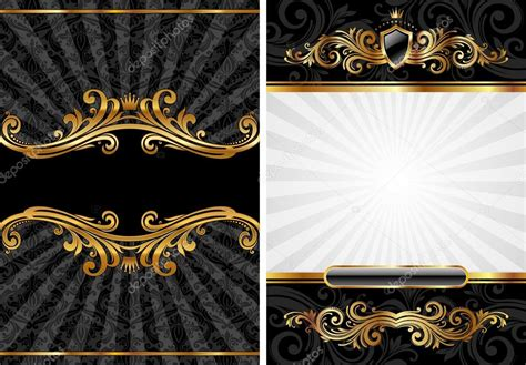 Gold Schwarz by Gold Black Luxury Background Stock Vector 169 S E R G O