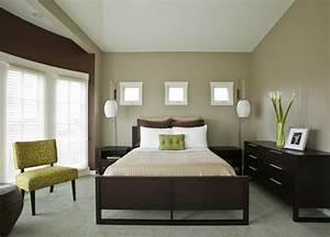 12 idees de deco pour une chambre rafraichissante en vert With chambre grise et verte