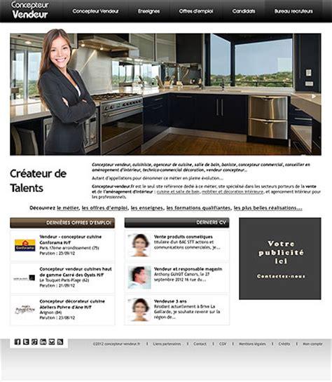 salaire d un concepteur vendeur cuisine vendeur concepteur cuisine offre d emploi poêle cuisine inox