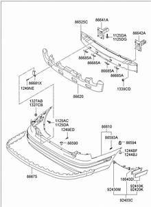 2003 Hyundai Elantra Retainer Assembly
