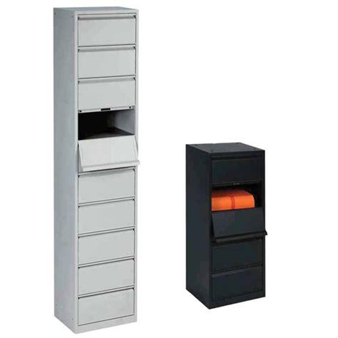 casier de bureau metal meuble à clapets métallique 5 ou 10 casiers