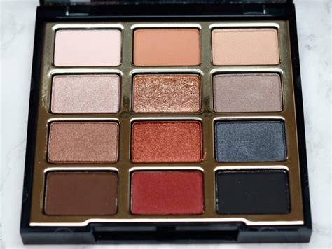 milani bold obsessions eyeshadow palette review swatches